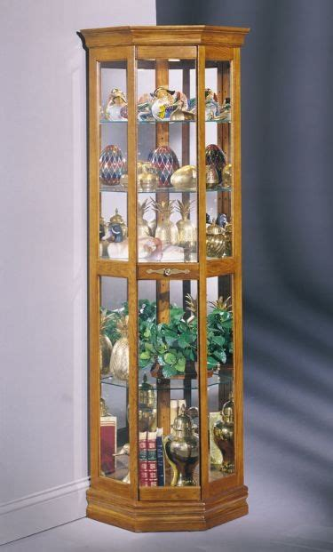 Pulaski Concave Corner Curio Cabinet by 17 Best Images About Corner Hutches And Decor On Pinterest