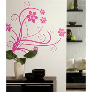 roommates deco swirl peel and stick wall decals walmart com