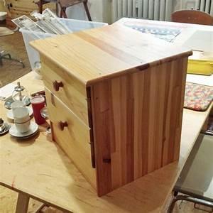 Aus Holz Bauen : nachttisch aus holz selber bauen ~ Lizthompson.info Haus und Dekorationen
