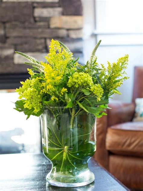 how to decorate vase how to decorate a glass vase hgtv