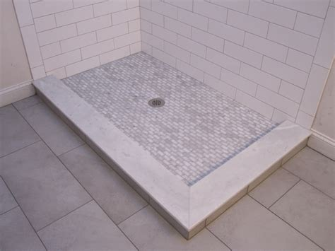 shower with subway tile large subway tile in a shower inspiration interior design ideas