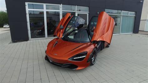 orange mclaren 720s 2017 mclaren 720s coupe azores orange exterior interior