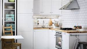 petites cuisines les bonnes idees a piquer chez ikea With tapis salle a manger ikea pour petite cuisine Équipée