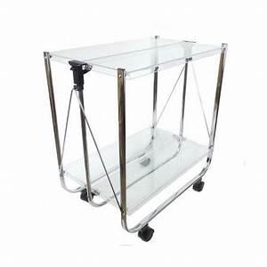 Table Roulante Pliante : table roulante pliante transparente achat vente ~ Dode.kayakingforconservation.com Idées de Décoration