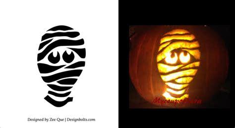 mummy pumpkin carving 5 best halloween scary pumpkin carving stencils 2013