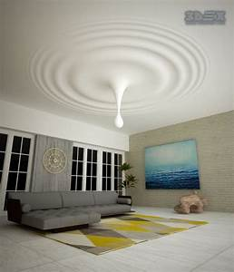 25 gypsum board design ideas to do in your home for Gypsum ceiling designs for living room