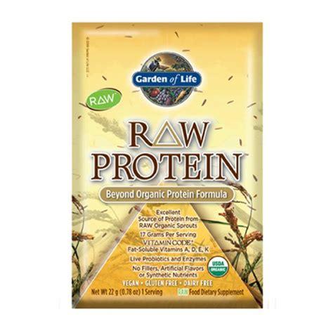 garden of protein garden of protein packets organic