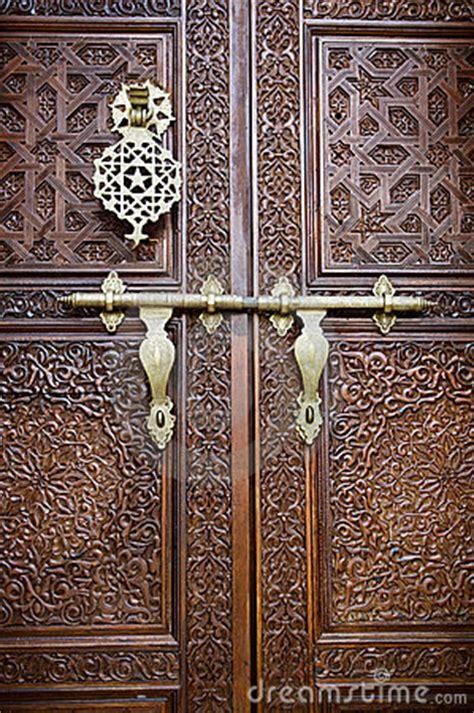 islamic style door royalty  stock  image