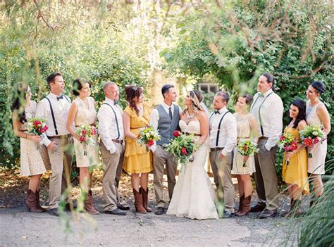 Country-inspired Cali Wedding