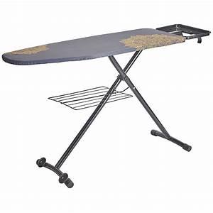 Support Table À Repasser : table repasser bellavita cesar 132 x 46 cm electro d p t ~ Melissatoandfro.com Idées de Décoration