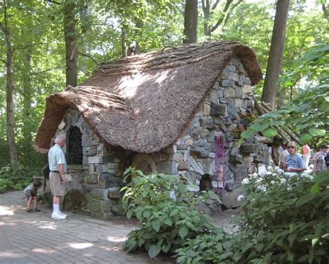 Filestone Cottage In Enchanted Forest At Winterthur
