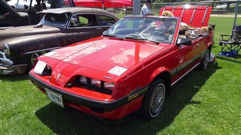 1984 Pontiac Sunbird Convertible