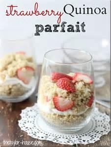 Healthy Strawberry Parfaits Recipe