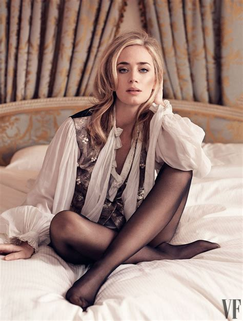 To put it bluntly, i would blunt emily blunt. EMILY BLUNT in Vanity Fair Magazine, February 2018 - HawtCelebs