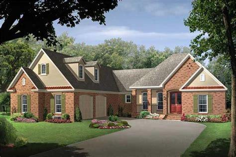 european country house plan    bedrm  sq ft home plan
