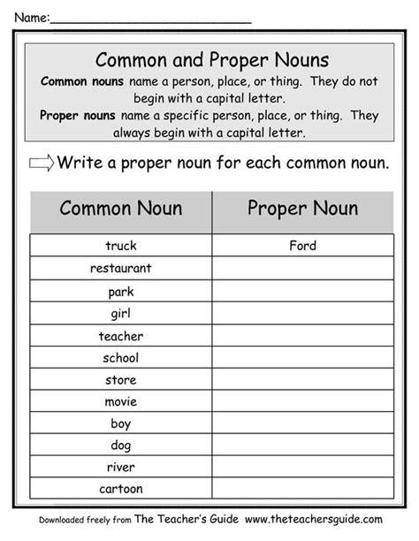 common and proper nouns common noun proper noun ela pinterest common and proper nouns