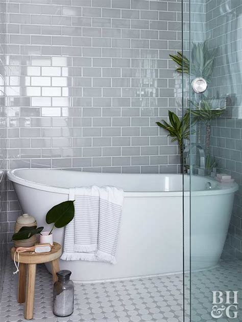 bathrooms with subway tile ideas our best bathroom subway tile ideas better homes gardens