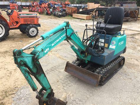 komatsu pc   compact excavator khs japan
