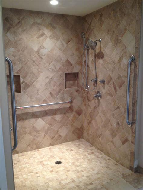 Ada Shower Threshold by Handicap Shower No Lip Threshold For Easy Wheelchair