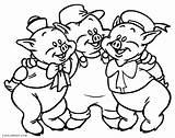 Pigs Coloring Pig Three Printable Ariana Grande Alpha Drawing Ella Getcolorings Cool2bkids Getdrawings Olivia Colori sketch template