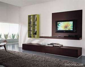 Spacious Living Room with TV Wall Mount Ideas - Interior ...