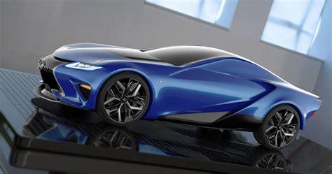 design study  lexus lf la supercar concept lexus