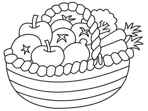 kumpulan mewarnai sketsa gambar buah buahan untuk diwarnai