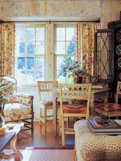 game table  french country living room hgtv