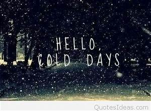 Cold winter quotes