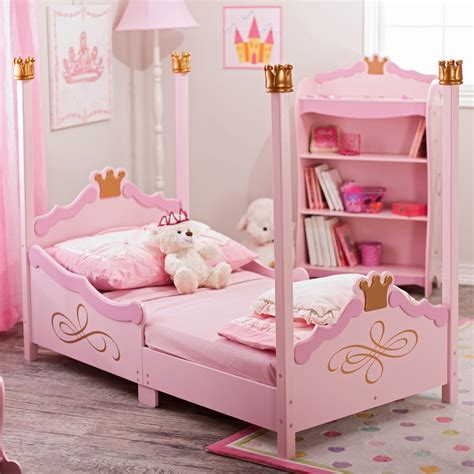 Have To Have It Kidkraft Princess Toddler Bed Pink