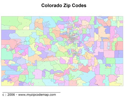 colorado springs zip code map colorado zip code maps free colorado zip code maps