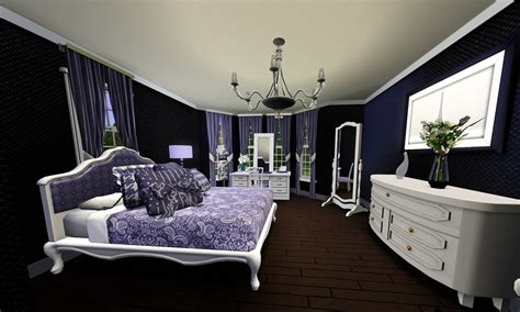 purple wallpaper bedroom 27 purple wallpaper bedroom ideas that optimize space and 13019 | purple and white bedroom wallpaper outstanding bedroom design with black wallpaper art and white bed furniture idea