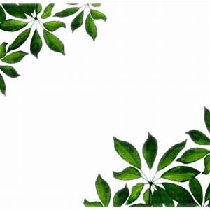 green leaves border frame, leaves frame - PicMix