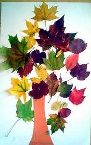 Aus Blättern Basteln : herbstbaum aus bl ttern pflanzen basteln meine enkel ~ Lizthompson.info Haus und Dekorationen