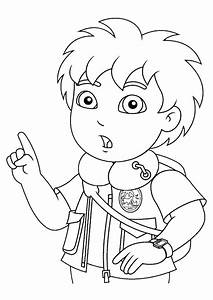 Scientific Adventures Of Diego 20 Diego Coloring Pages