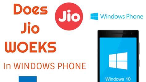 jio sim in windows phone must watch youtube