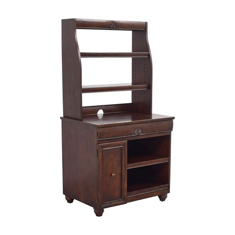 used computer desk with hutch 51 off pier 1 imports pier 1 imports wood computer desk