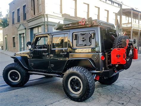 jeep custom custom jeep wrangler unlimited rubicon jk c obsidian off