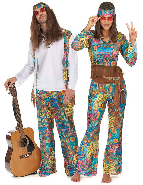 vestiti carnevale figli dei fiori costumi da hippy figli dei fiori costumi coppia e vestiti