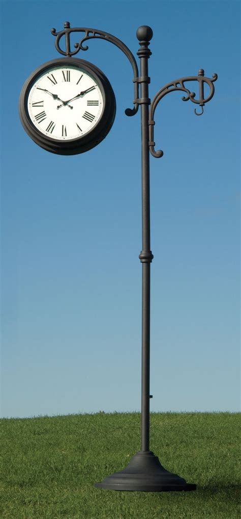 decorative outdoor gauges enhance your yard or garden with this outdoor pedestal