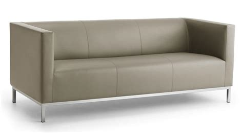 divanetti per ufficio divano lineare a 3 posti base in acciaio cromato idfdesign