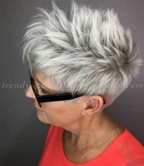 shorthairstylesover shorthairstyleforgreyhair haircuts pinterest gray hair