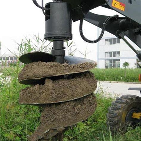 forest wheel loader  mulcher auger attachment  forestry factory china  liteng