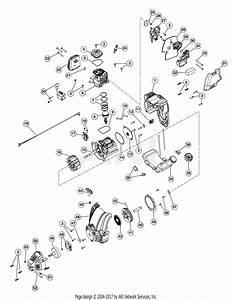 Troy Bilt Tb575es 41cdt57c966  41cdt57c966 Tb575es Parts Diagram For Engine Assembly