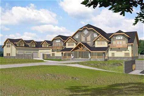 Luxury Home Plan Modern Home Design GHD 2045 # 9422