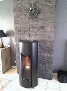 parement pierre chemine parement pierre chemine relooker With installer une cheminee dans une maison