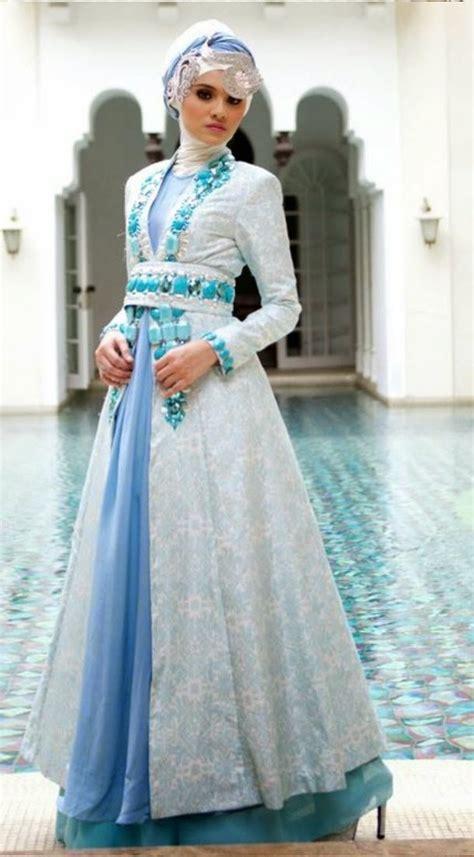 baju kebaya modern muslim mengikuti trend kekinian desain kebaya terbaru