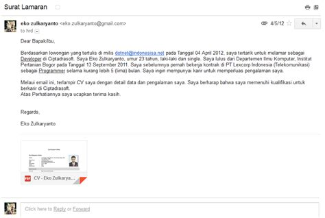 daftar alamat email perusahaan dan cara melamar via email