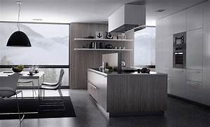 kitchens on trend sleek shades of gray 2273