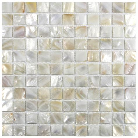 of pearl large subway tile 1 quot x 1 quot of pearl shell tile kitchen